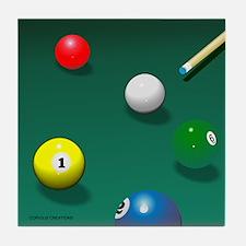 Billiards - Tile Coaster