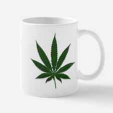 Marijuana Pot Leaf Mug