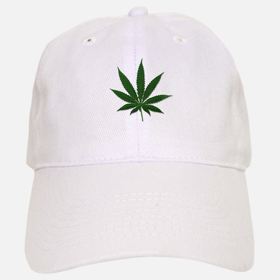 Marijuana Pot Leaf Baseball Baseball Cap