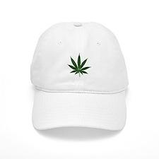 Marijuana Pot Leaf Cap