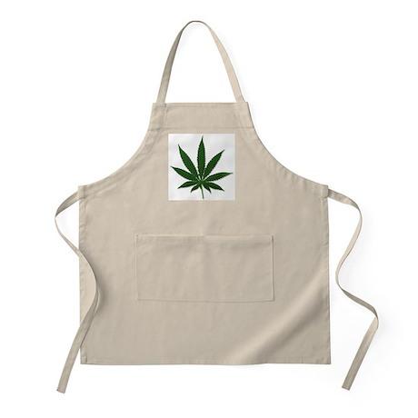 Marijuana Pot Leaf BBQ Apron