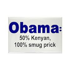 50% Kenyan Rectangle Magnet
