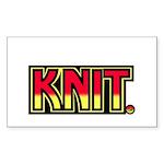 Kiss Rectangle Sticker