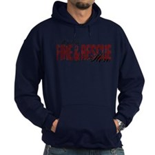 Wife My Hero - Fire & Rescue Hoodie