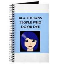 funny beautician beauty joke Journal