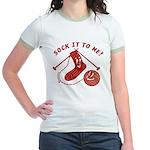 Sock It To Me! Jr. Ringer T-Shirt