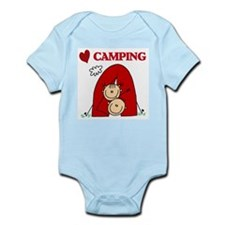 I Love Camping Onesie