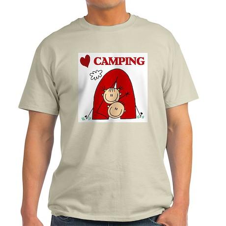 I Love Camping Light T-Shirt