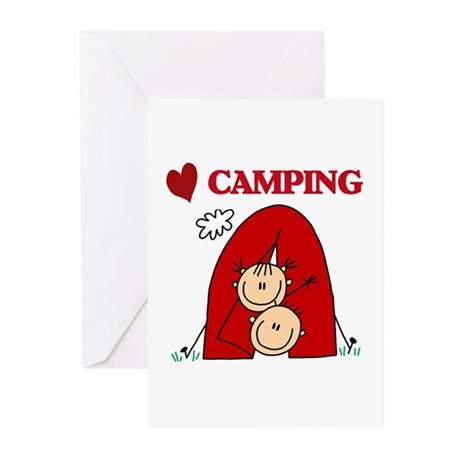 I Love Camping Greeting Cards (Pk of 10)