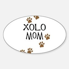 Xolo Mom Oval Decal