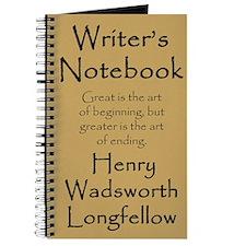 """Henry Wadsworth Longfellow"" Notebook"
