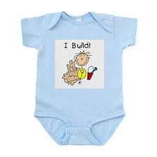 Girl I Build Sand Castles Infant Bodysuit