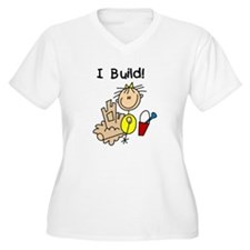 Girl I Build Sand Castles T-Shirt