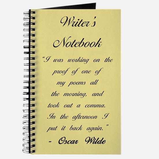 """""""Oscar Wilde II"""" - Writer's Notebook"""