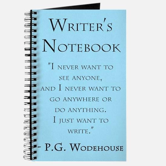 """P. G. Wodehouse"" - Writer's Notebook"