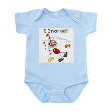 I Snorkel Infant Bodysuit