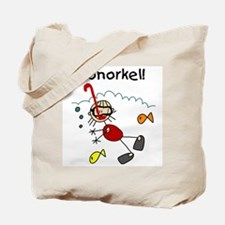 I Snorkel Tote Bag