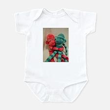 Funny Sockmonkey Infant Bodysuit