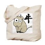 Funny Ox Tote Bag