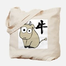 Funny Ox Tote Bag