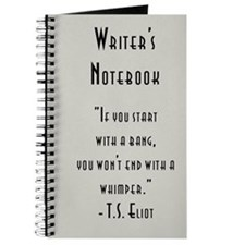 """T. S. Eliot"" - Writer's Notebook"