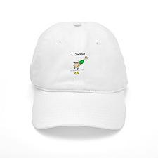 Girl I Swim Baseball Cap