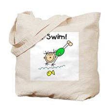 Girl I Swim Tote Bag