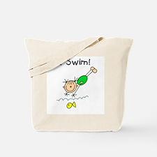 Girl I Swim Tote Bag