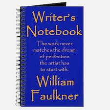 """William Faulkner"" - Writer's Notebook"