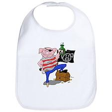 Pig Pirate Captain Bib
