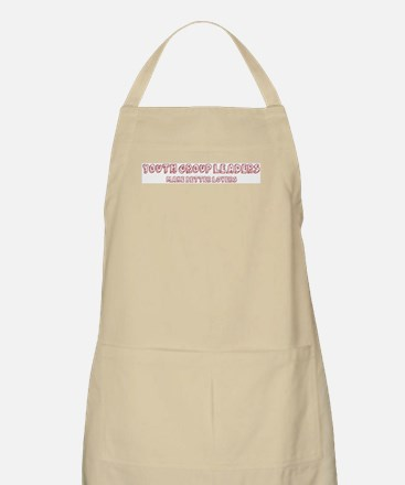 Youth Group Leaders make bett BBQ Apron