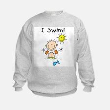 Boy I Swim Sweatshirt