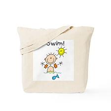 Boy I Swim Tote Bag