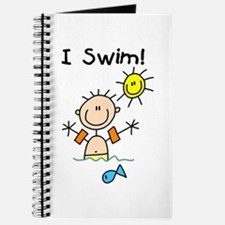 Boy I Swim Journal