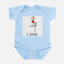 Girl I Dive Infant Bodysuit