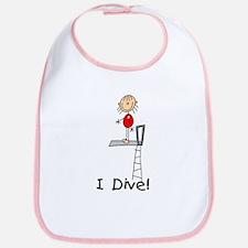 Girl I Dive Bib