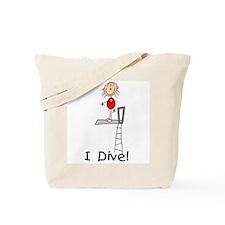 Girl I Dive Tote Bag