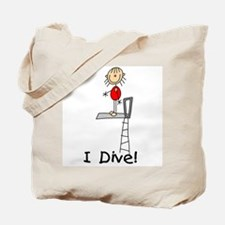 Girl I Dive Tote Bag