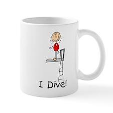 Girl I Dive Mug