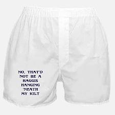 No Haggis 'neat Kilt Boxer Shorts