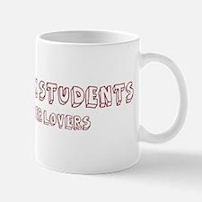 Social Work Students make bet Mug