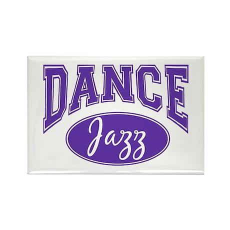 Jazz Dance Rectangle Magnet