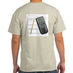 Your Calculator Can't Help Ash Grey T-Shirt