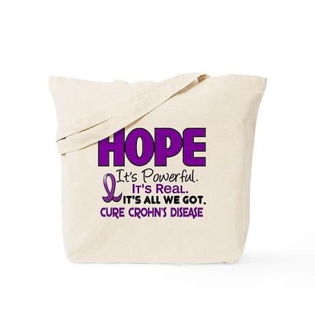 HOPE Crohn's Disease 1 Tote Bag