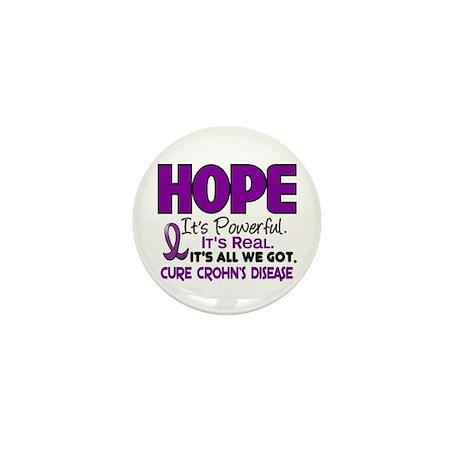 HOPE Crohn's Disease 1 Mini Button (10 pack)