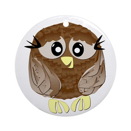 Hootie the Owl Ornament (Round)