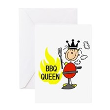 BBQ Queen Greeting Card