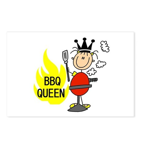 BBQ Queen Postcards (Package of 8)