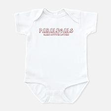 Paralegals make better lovers Infant Bodysuit