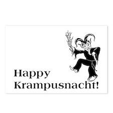 Happy Krampusnacht! Postcards (Package of 8)